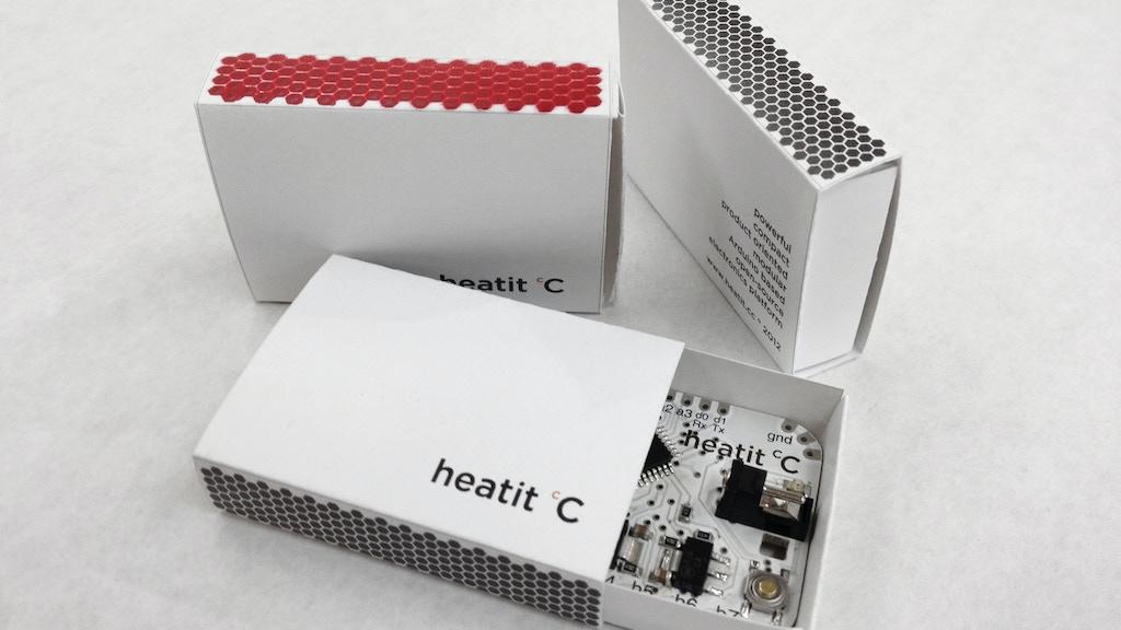 Heatit miniatura de video del proyecto