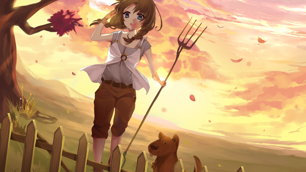 World's Dawn (colorful farming sim inspired by Harvest Moon) project video thumbnail