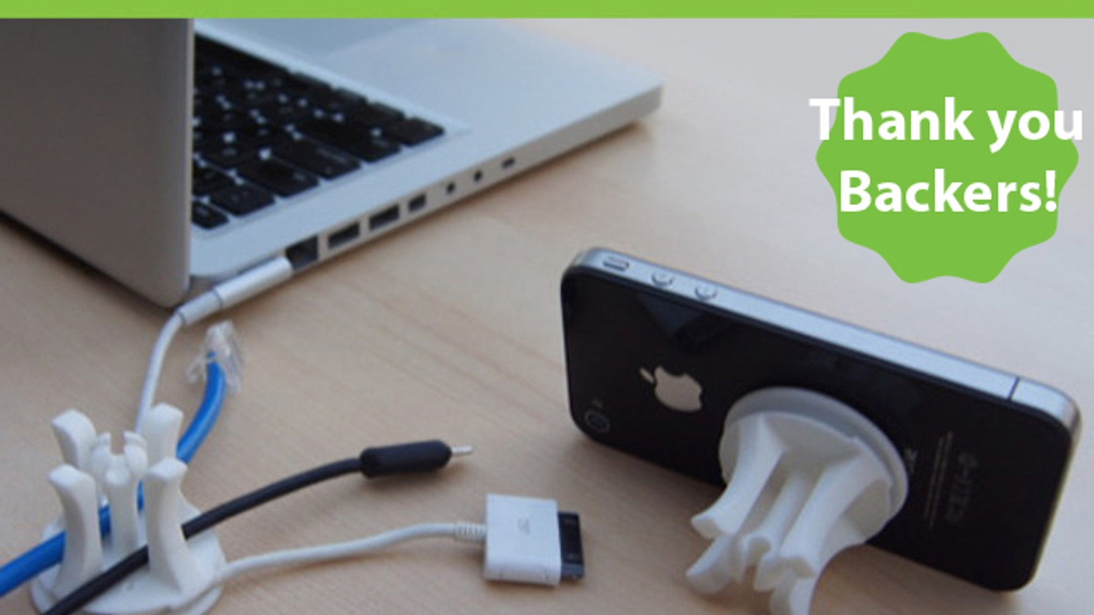 Snable - A different way to organize your cords/cables