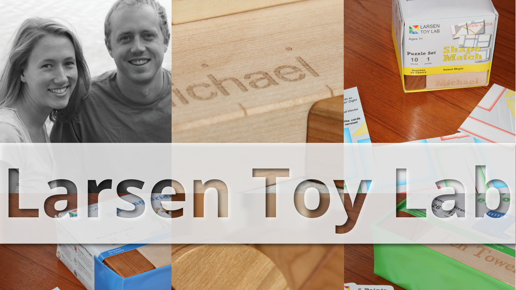 Larsen Toy Lab: Rediscover the Power of Building Blocks project video thumbnail