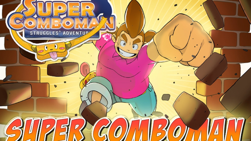 Super Comboman: Beat-em-up Sticker Action Platformer project video thumbnail