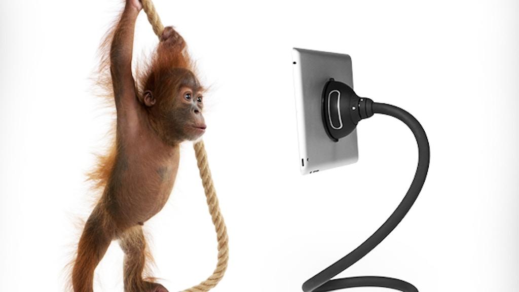 Monkey Kit: Flexible Tablet Positioning System project video thumbnail