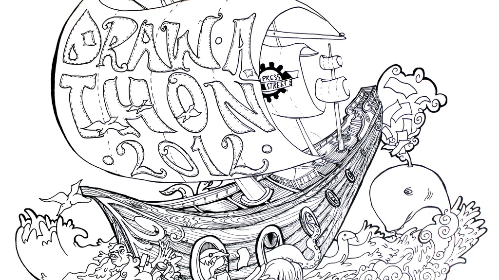 7th Annual 24 HR Draw-a-thon 2012 project video thumbnail