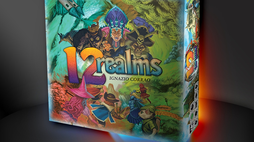 12 Realms project video thumbnail