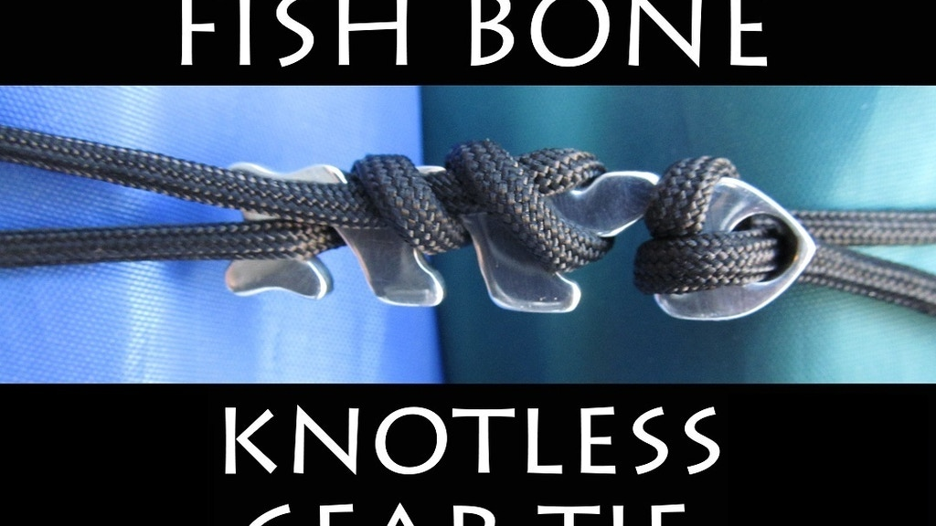 FISH BONE - Knotless Gear Tie project video thumbnail
