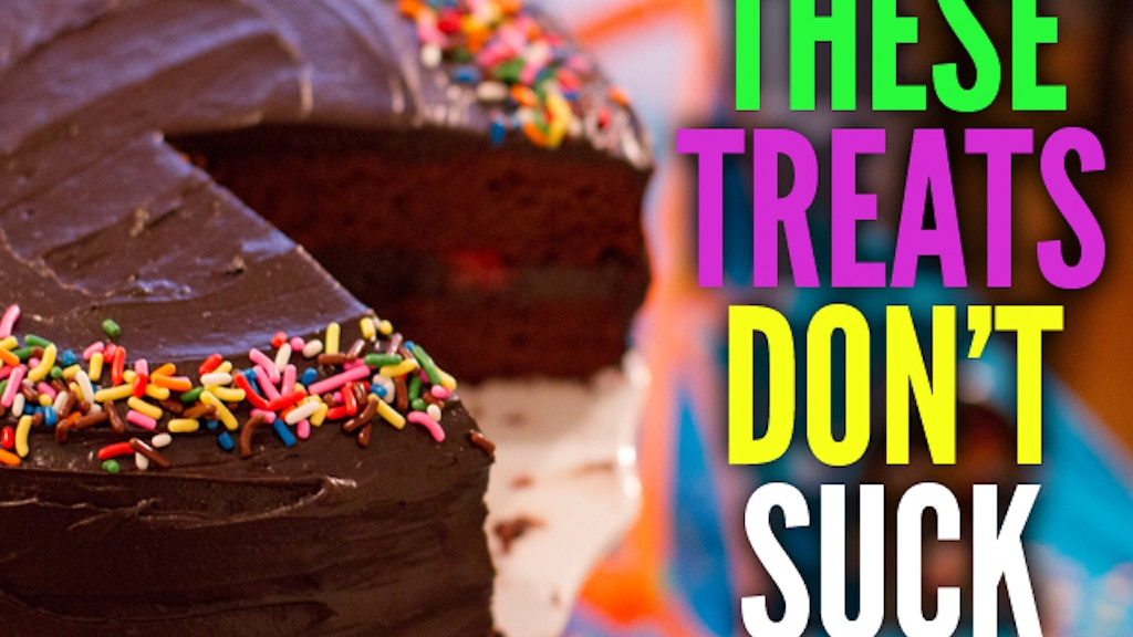 These Treats Don't Suck: A Gluten Free Cookbook project video thumbnail