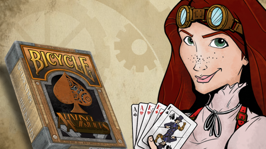 Bicycle® Amazing Adventurers - Steampunk Playing Cards Deck project video thumbnail