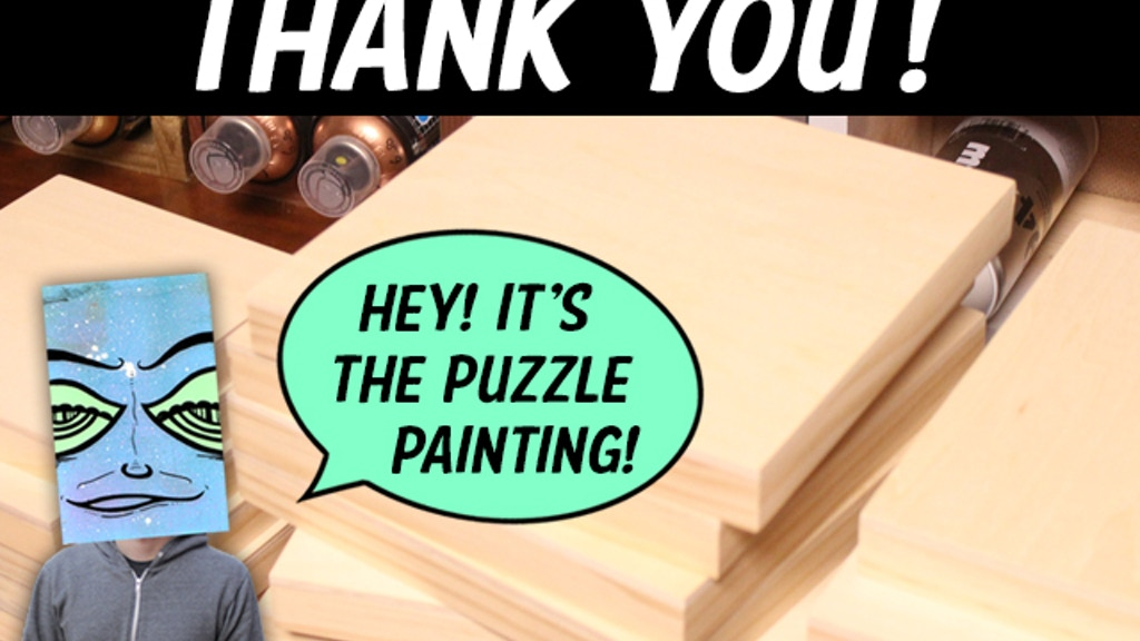 The Puzzle Painting project video thumbnail