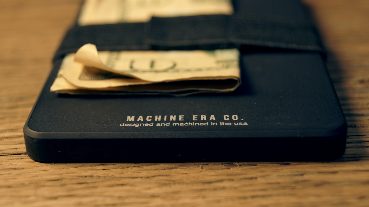 Fully Machined Slim Wallet.  Rethink your everyday carry.