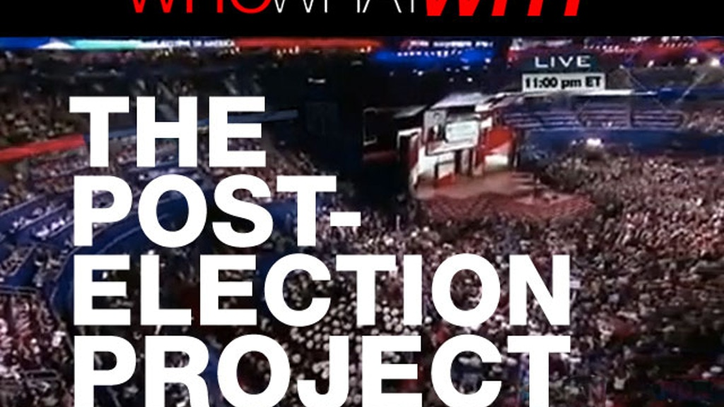 WhoWhatWhy: The Post-Election Project project video thumbnail