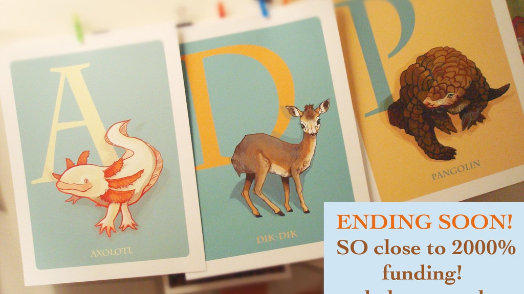 Under Appreciated Animals: ABCs Matching Game & Flash Cards project video thumbnail