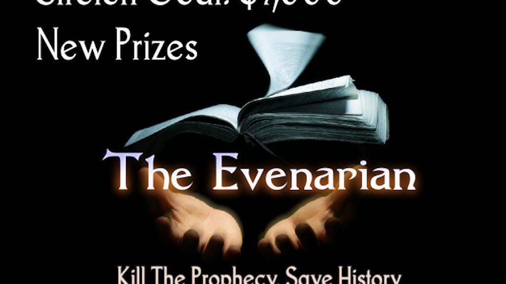 The Evenarian - a fantasy novel project video thumbnail