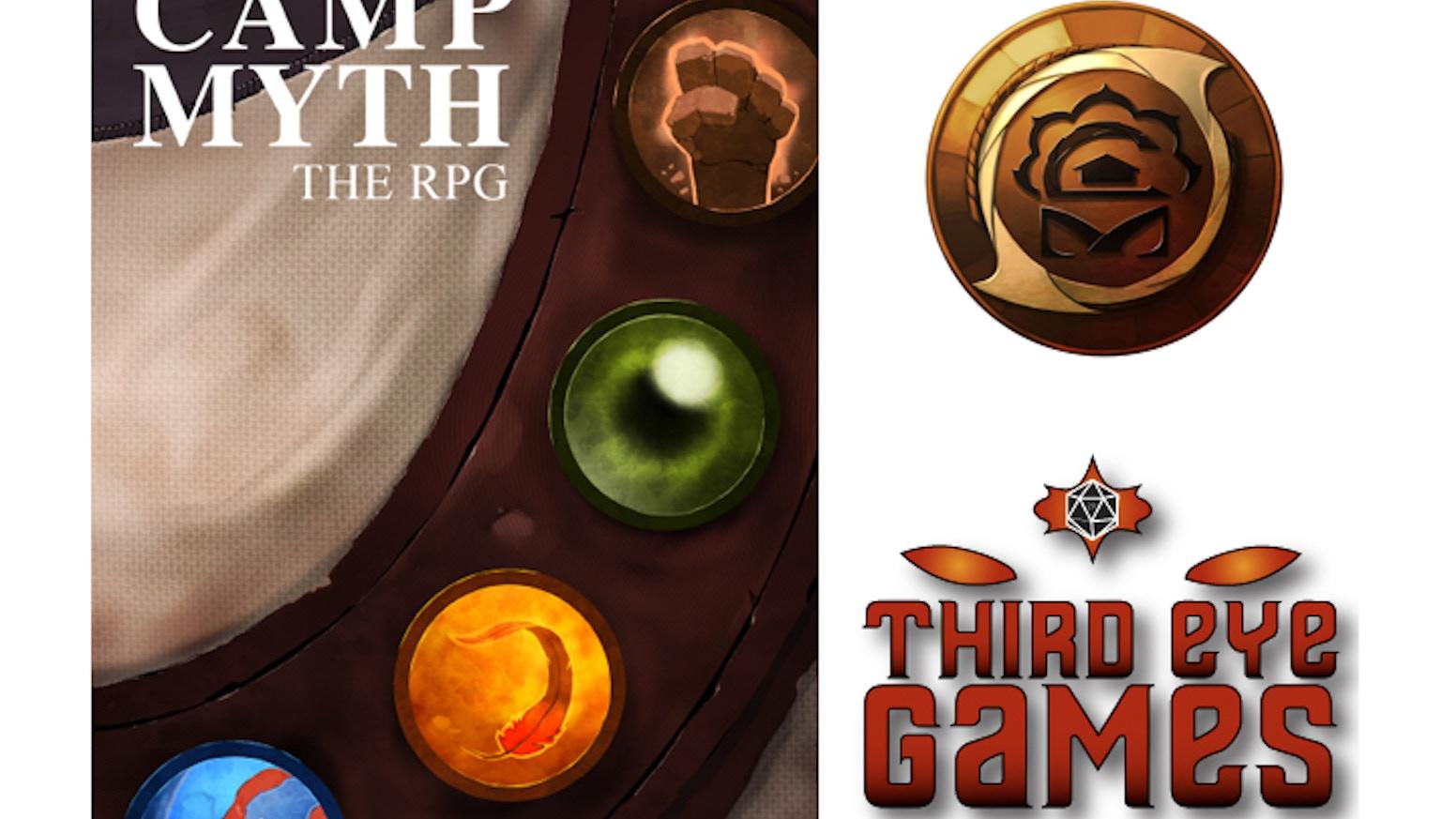 Camp Myth: The RPG by Eloy Lasanta — Kickstarter
