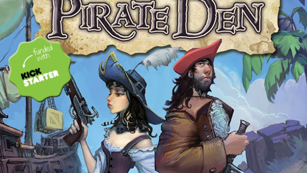PIRATE DEN: a pirate-themed bluffing game project video thumbnail
