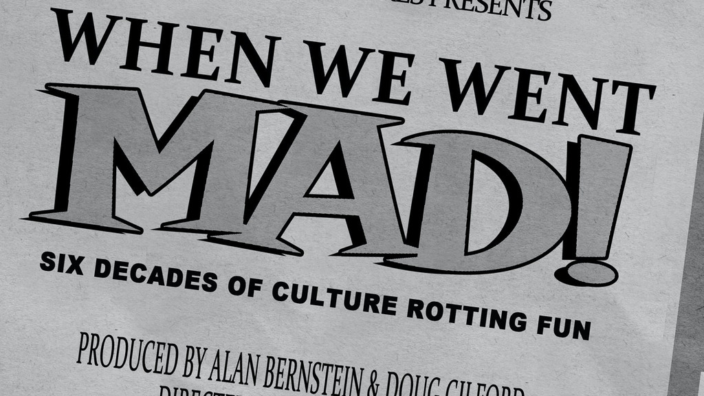 When We Went Mad! A Documentary of Ecch-ic Proportions! project video thumbnail