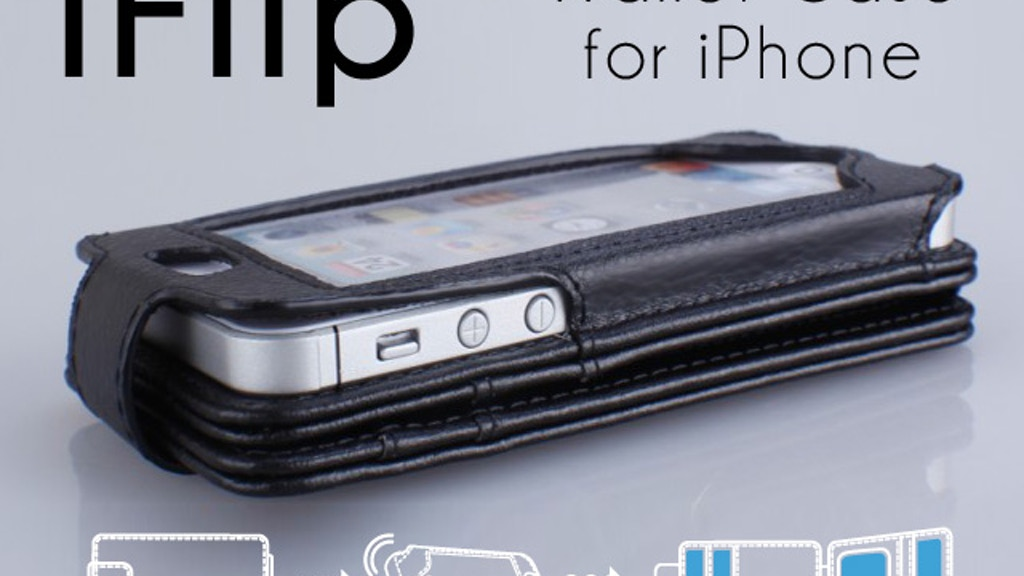 iFlipWallet. The Evolution of the iPhone Wallet Case. project video thumbnail