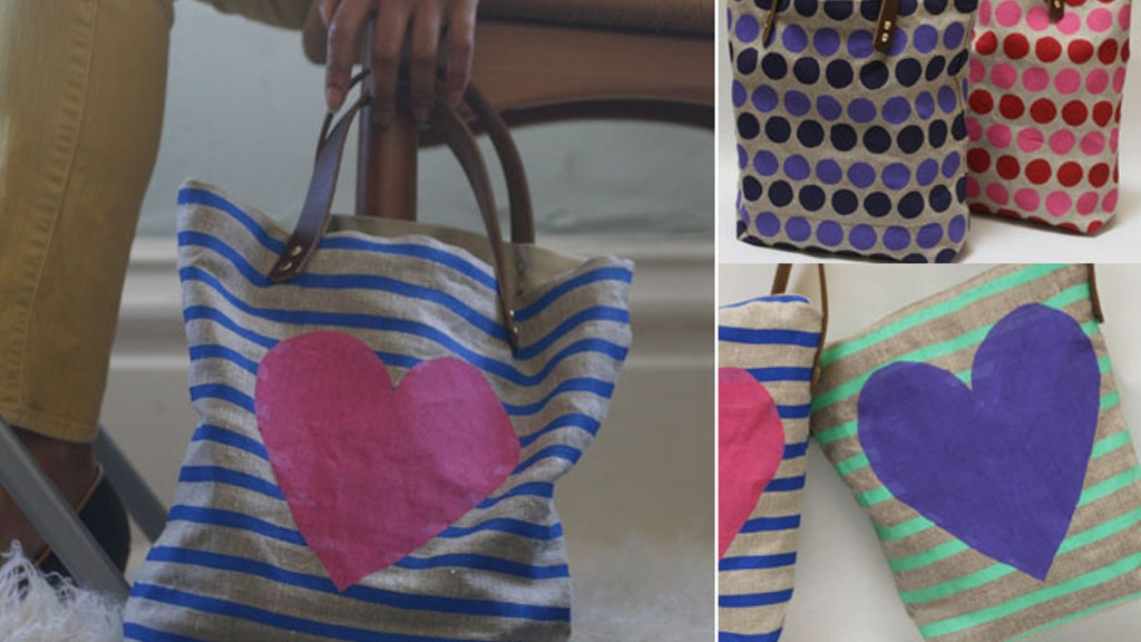 Jen Hewett Studio's Linen and Leather Bags Collection! project video thumbnail