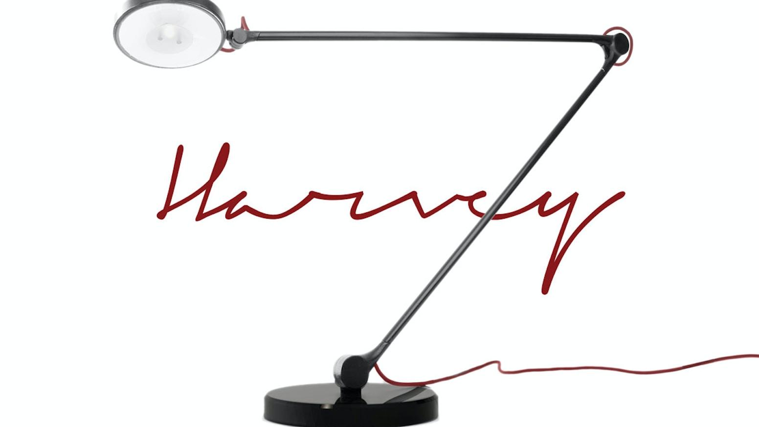 Harvey LED task lamp by David Oxley — Kickstarter
