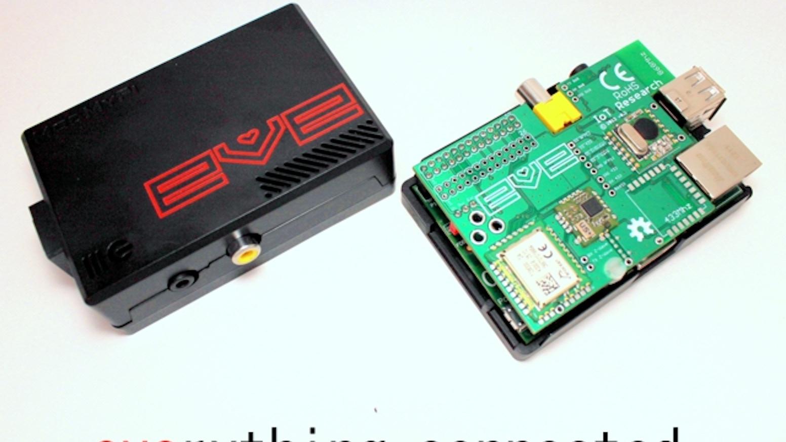 EVE Alpha - Raspberry Pi wireless development hardware by
