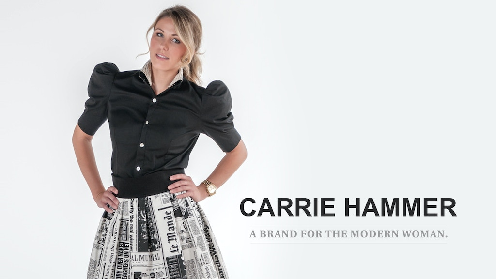 A Brand For The Professional Woman: CARRIE HAMMER project video thumbnail