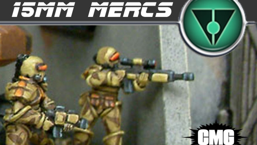 Critical Mass Games - ZAS 15mm Mercs project video thumbnail