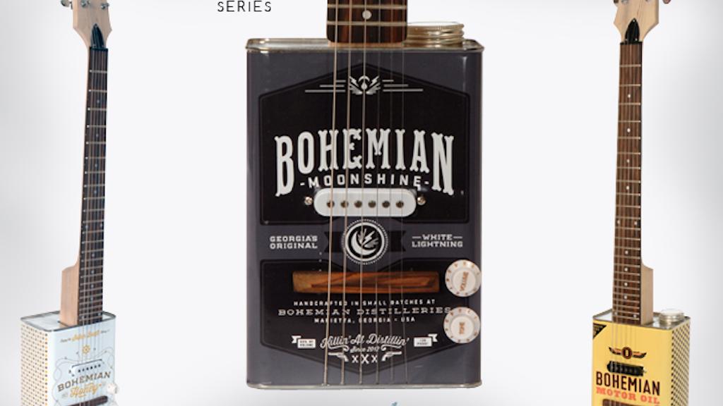 Bohemian Guitars - Oil Can Guitar project video thumbnail