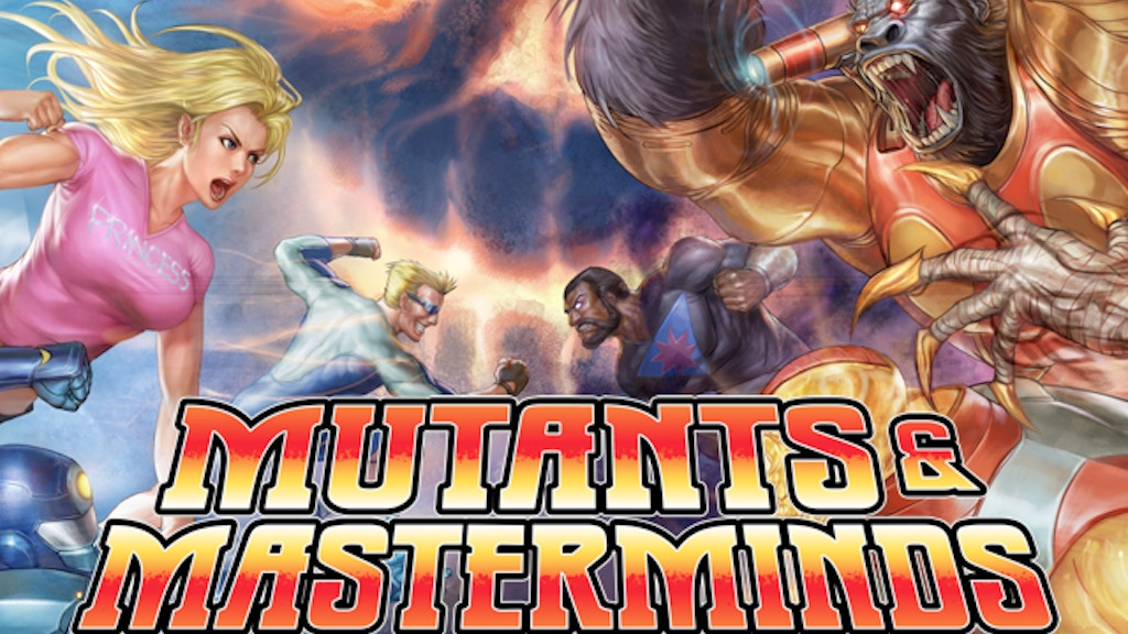 Mutants & Masterminds 10 Year Anniversary Edition project video thumbnail