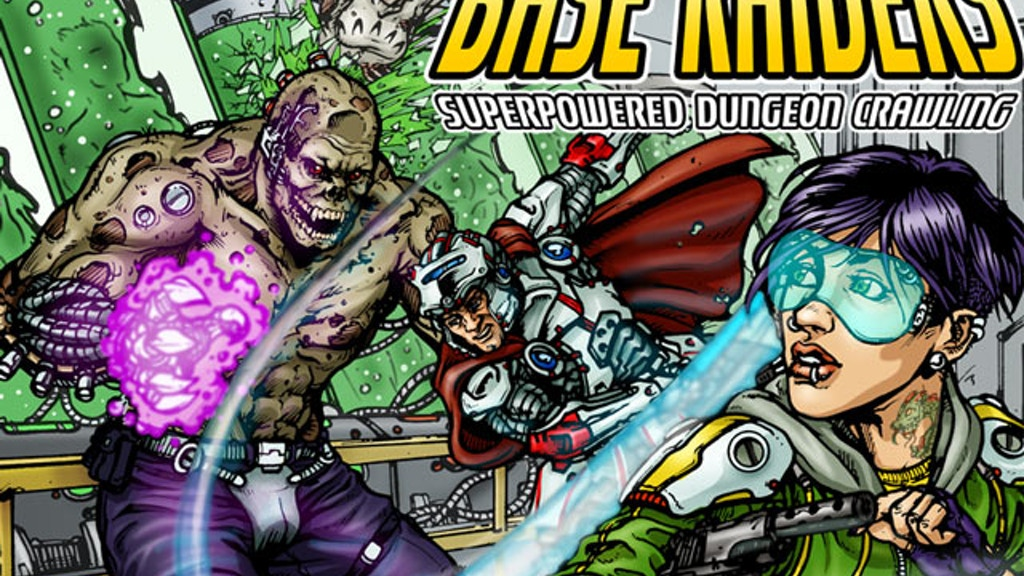Base Raiders:The Superpowered Dungeon Crawling RPG project video thumbnail