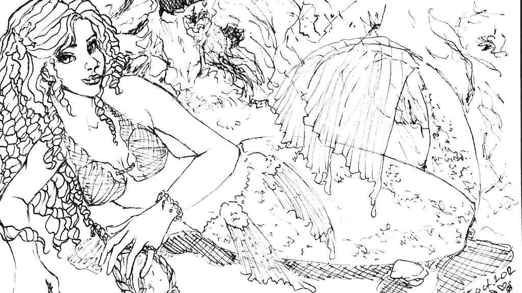 Metamorphosis into Mermaid project video thumbnail