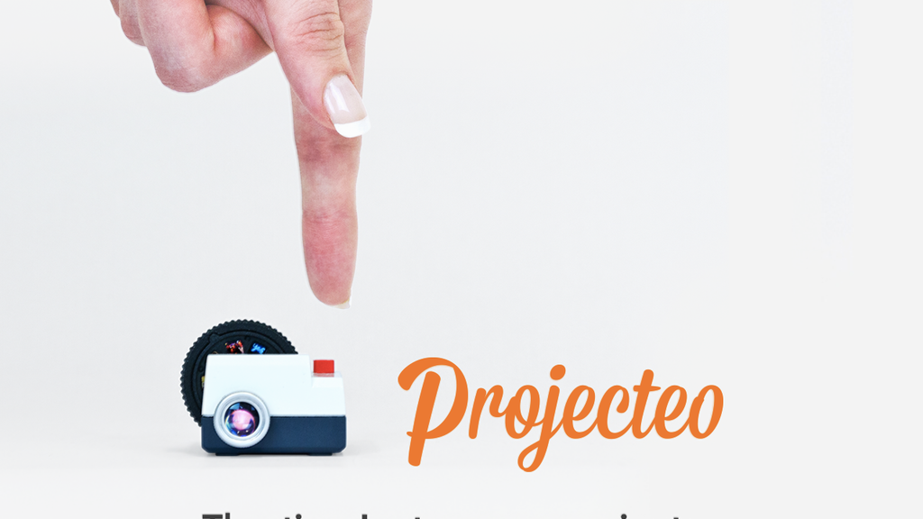 Projecteo: The tiny Instagram projector. project video thumbnail