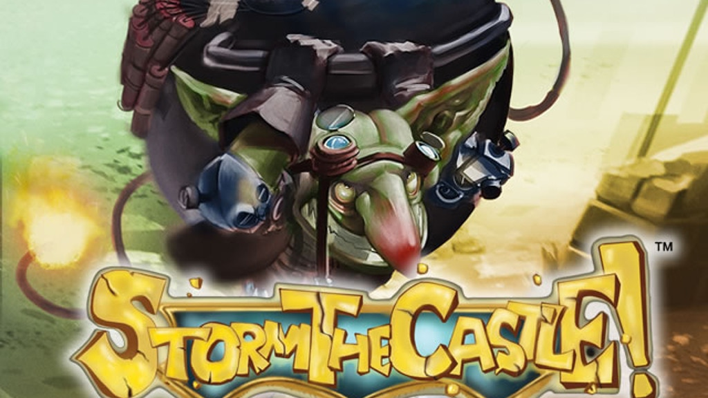 Storm the Castle! Semi Co-op Fantasy Battle Board Game project video thumbnail