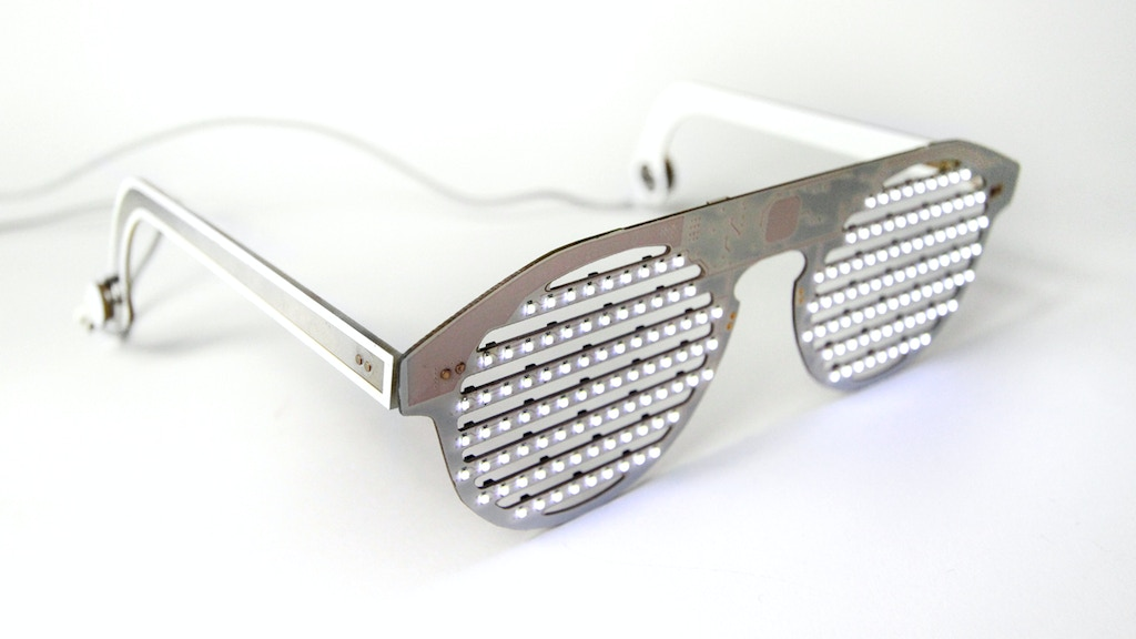 The Bright Eyes Kit - DIY LED glasses to inspire programming project video thumbnail