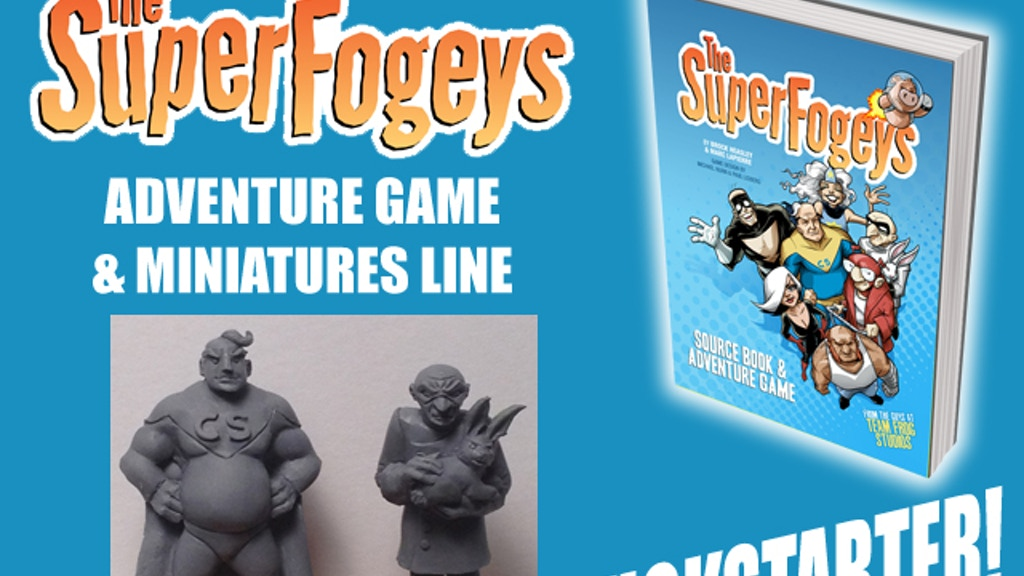 The SuperFogeys Adventure Game by Team Frog Studios project video thumbnail