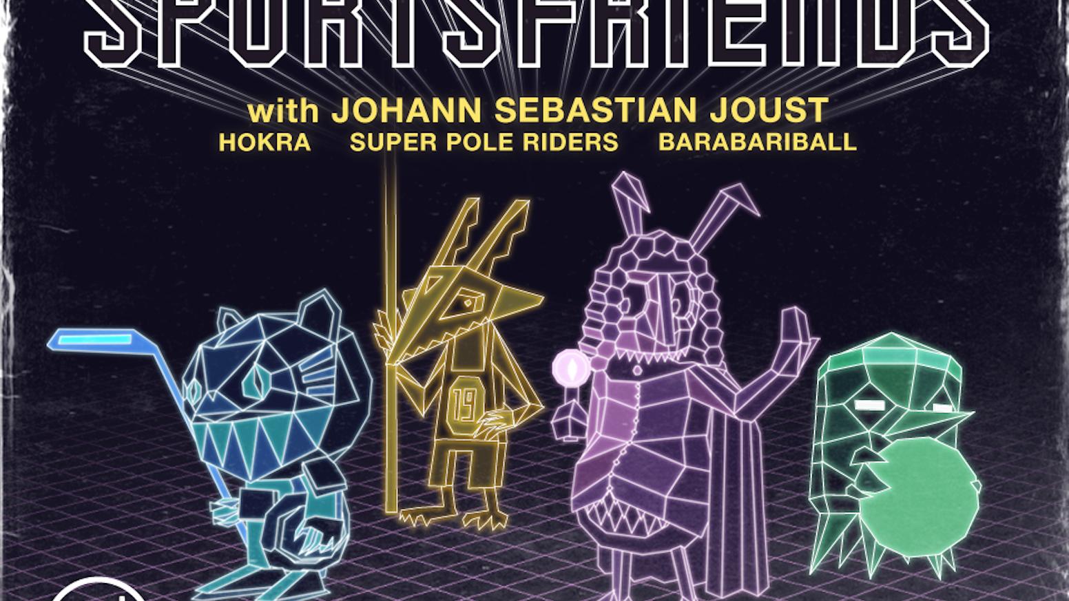 SPORTSFRIENDS featuring Johann Sebastian Joust by Die Gute Fabrik