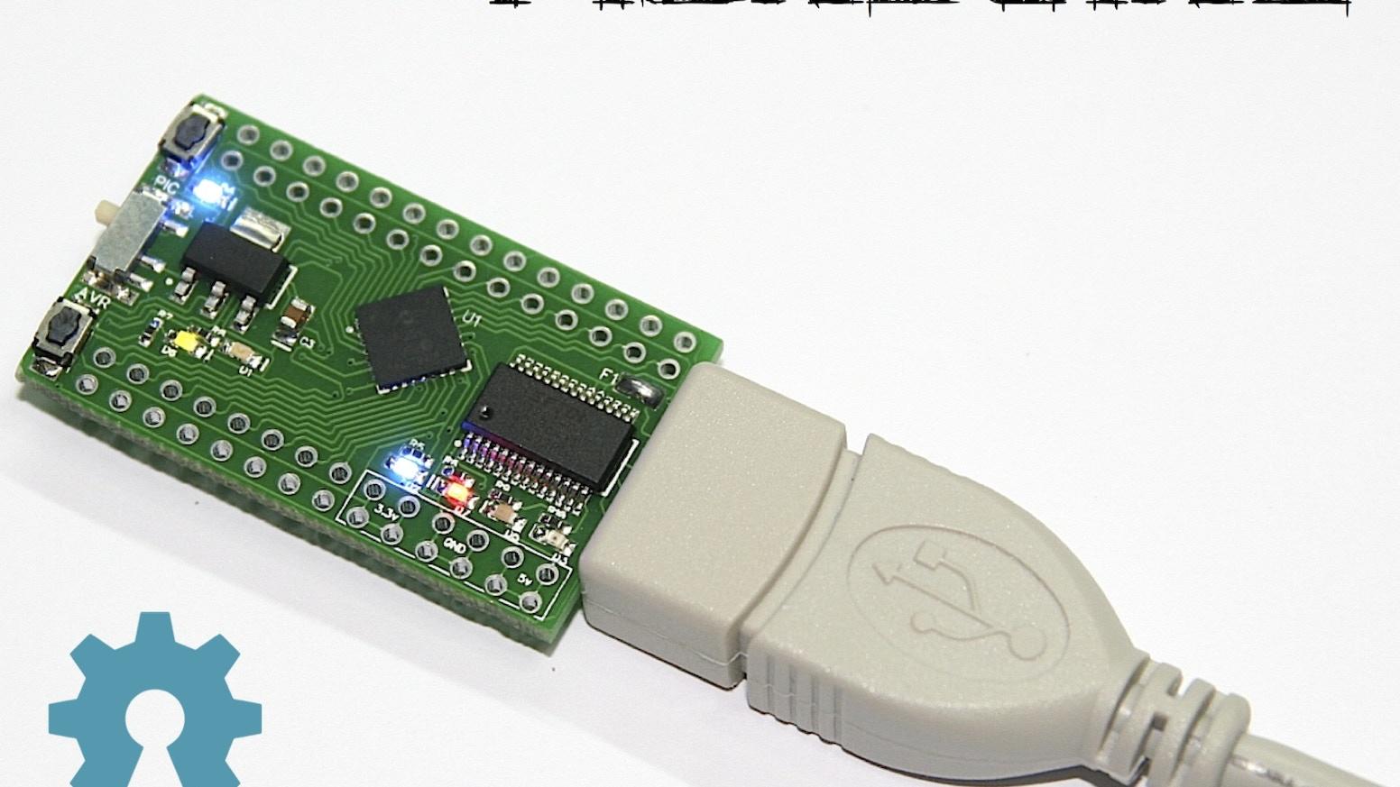 PICnDuino - Dual Microcontroller Development Platform by