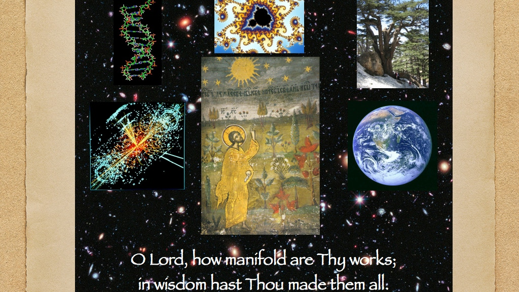 Psalm 103 for the Creation of the Whole Cosmos project video thumbnail