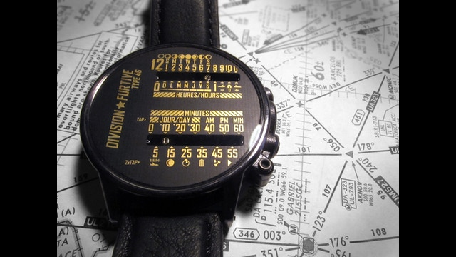 Division furtive dual linear wrist watches by division furtive kickstarter - Div checker tool ...