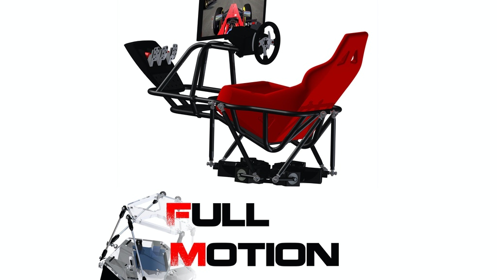 Six degree-of-freedom Motion Simulation Platform project video thumbnail