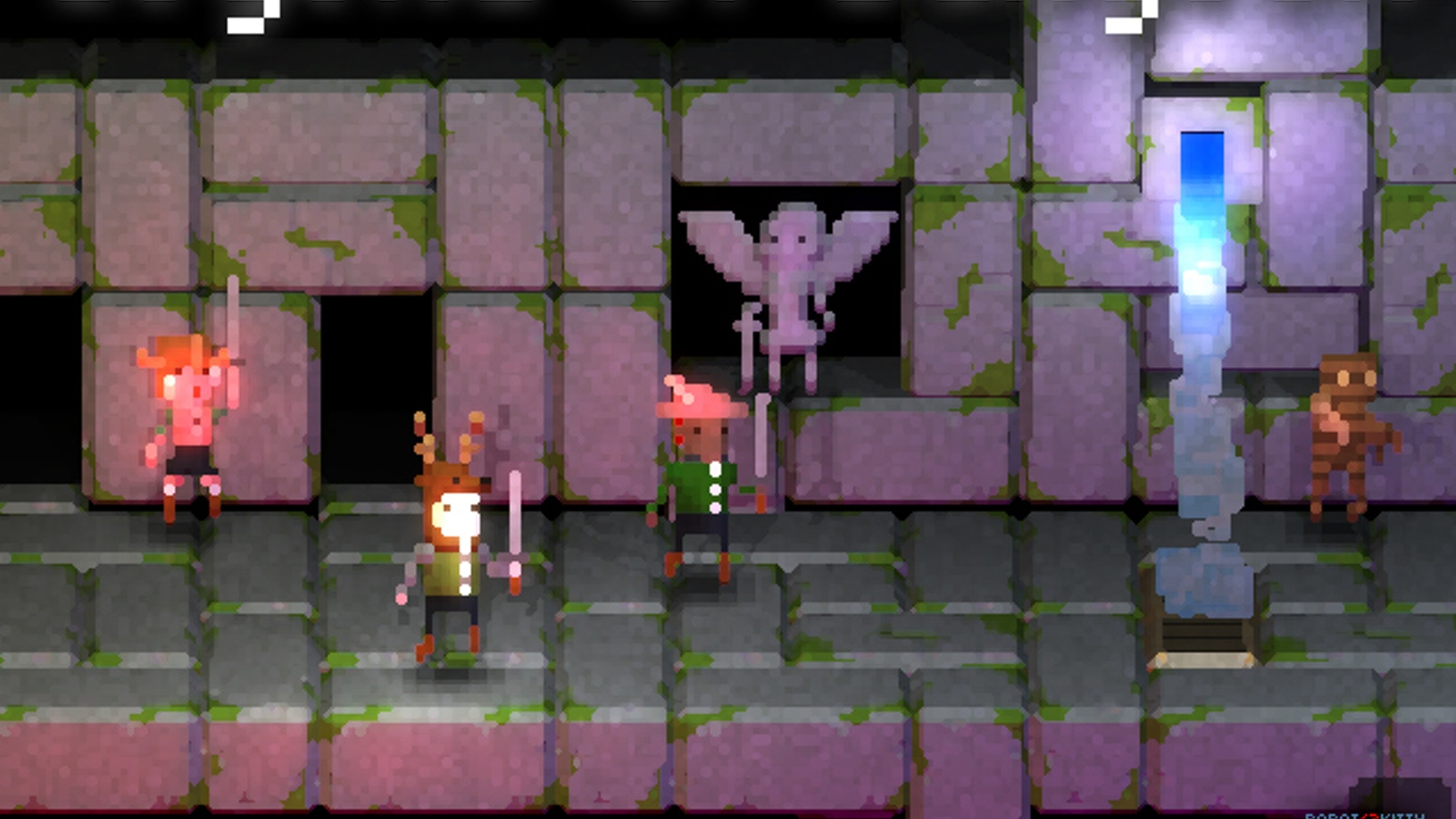 Legend of Dungeon is a 4 Player Co-Op Roguelike-like Beat'em'up with dynamic lighting on awesome pixel art.