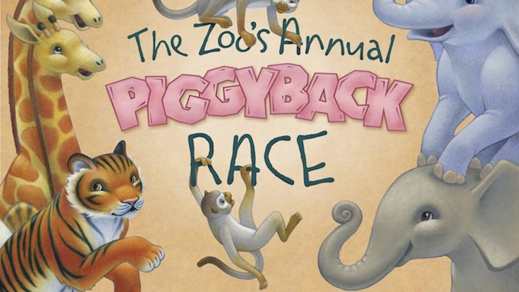 The Zoo's Annual Piggyback Race project video thumbnail