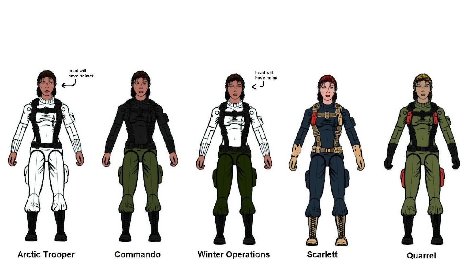 gi joe arah figure shooter repaints by falcone kickstarter