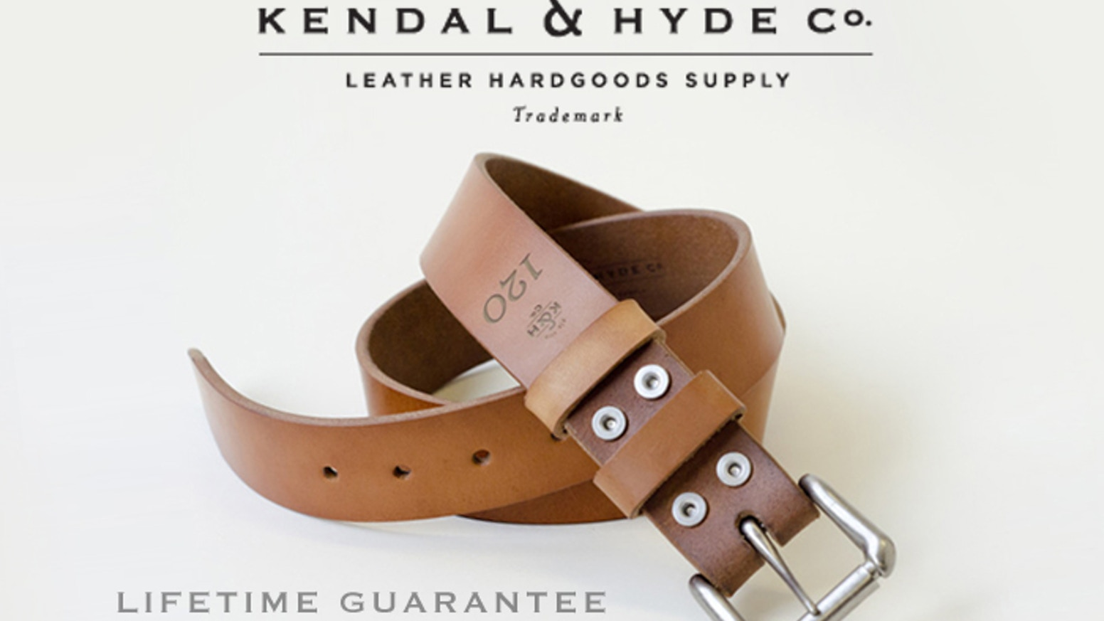 e0d300a8e A leather belt to last a lifetime—two if you count the cow s by ...