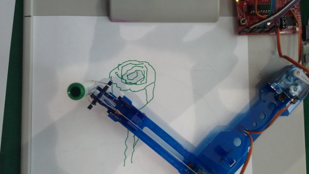 PicassoBot - The Portrait Sketching Robot Kit project video thumbnail