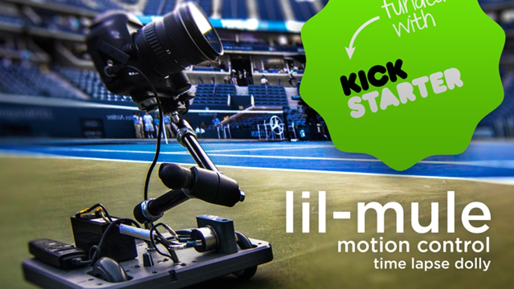 Lil-Mule: Professional Time Lapse and Video Camera Dolly project video thumbnail