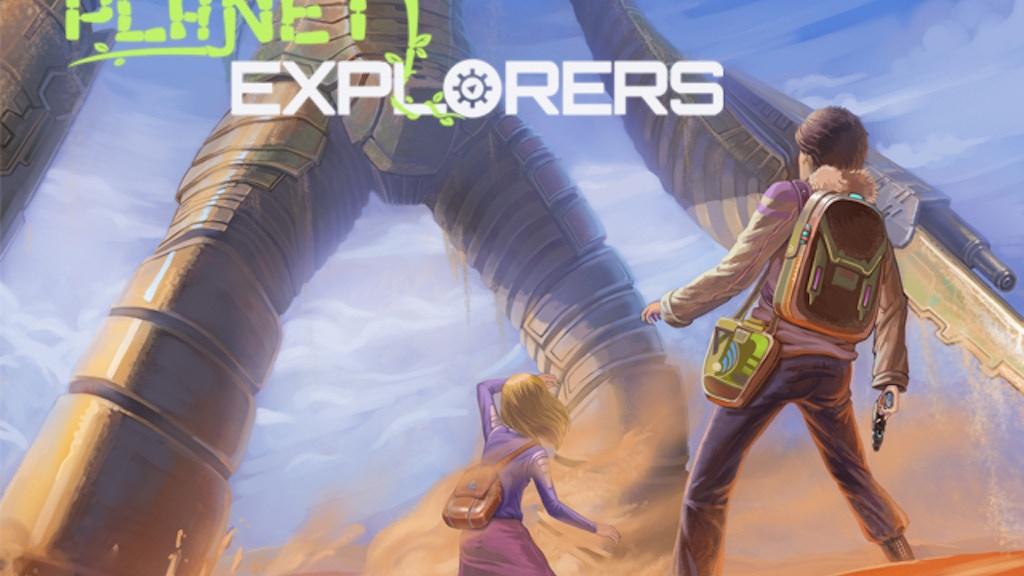 Planet Explorers project video thumbnail