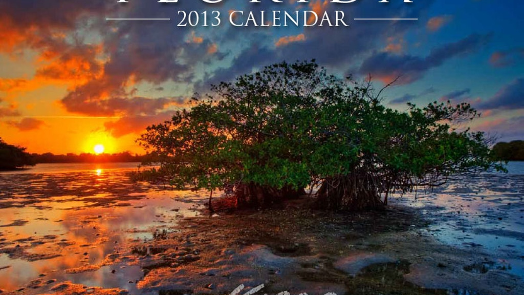 Project image for Florida Photography Calendar 2013 by Captain Kimo