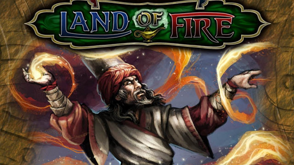 Hellfrost Land of Fire - Arabian Nights RPG Fantasy Setting project video thumbnail