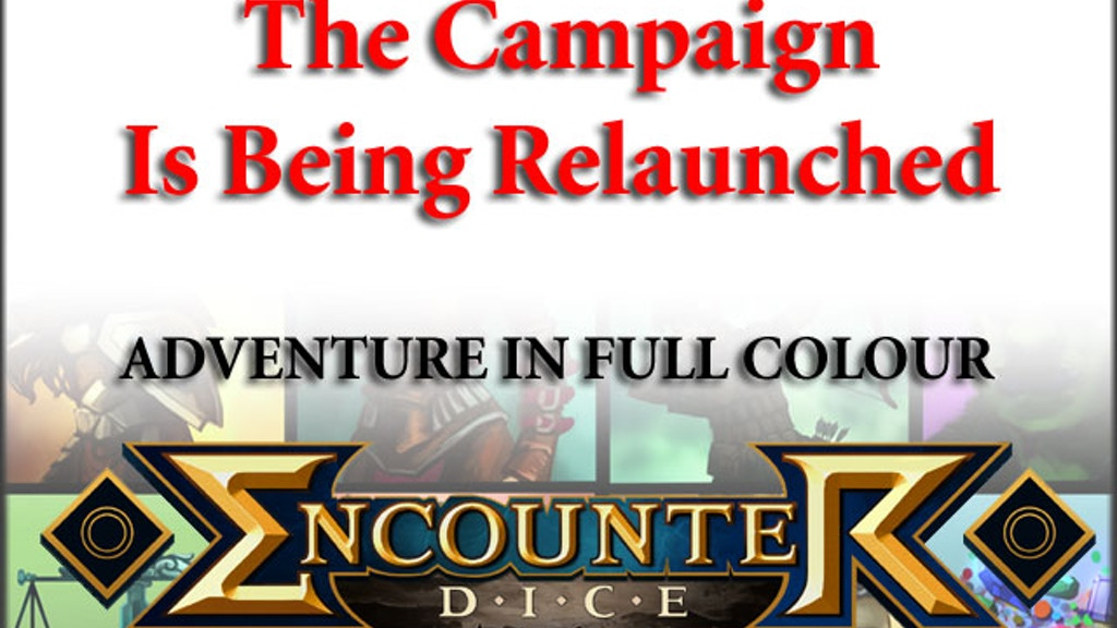 Project image for Encounter Dice -  (Funding Cancelled) (Canceled)