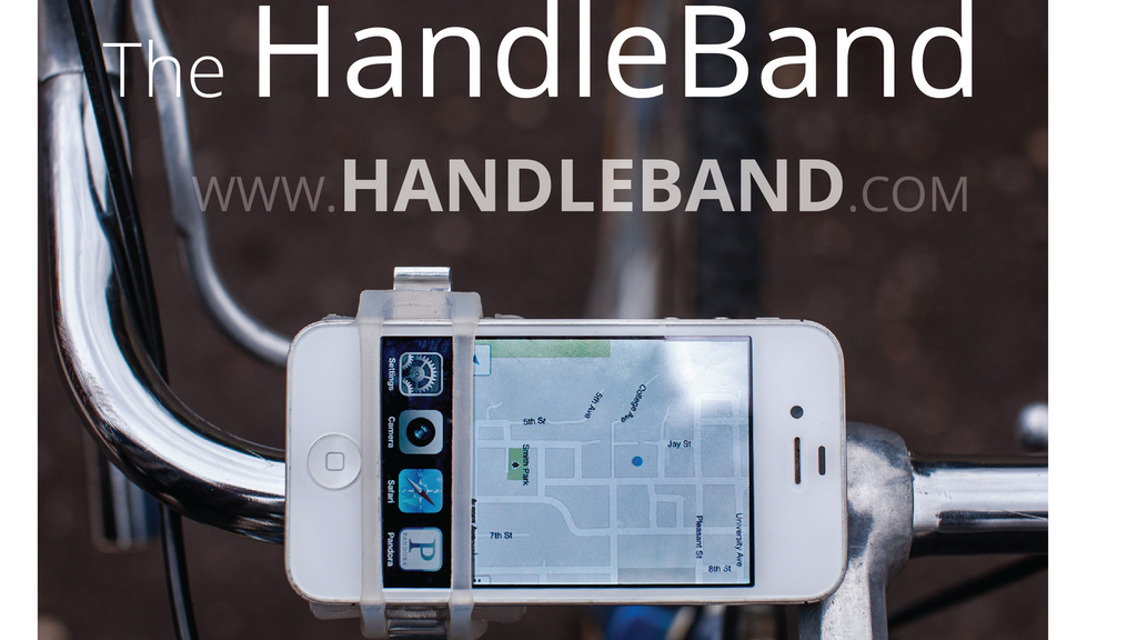 The Handleband - phones, bikes, and open bottles project video thumbnail
