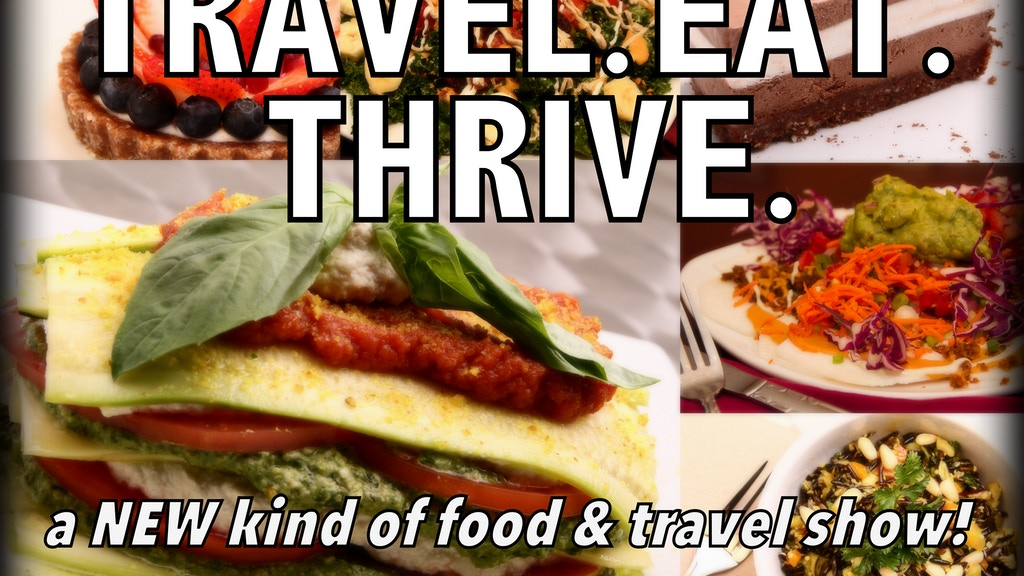 """Finishing the First Episode of """"Travel. Eat. Thrive."""" project video thumbnail"""